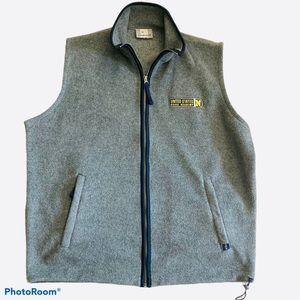 J America XL Gray US Naval Academy Vest